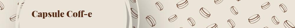 Vendita online capsule per macchine da caffè a cialde – Coff-e