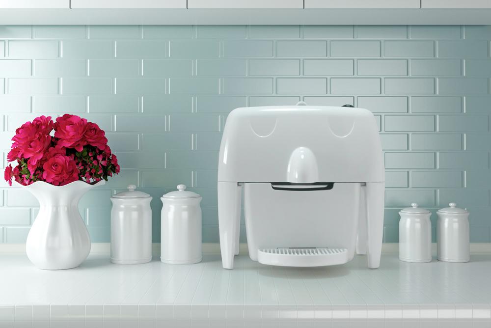 Macchina da caffè a capsule compatta e colorata 100% Made in Italy in vendita online e ideale per la cucina di casa - Coff-e Machine - COFF-E
