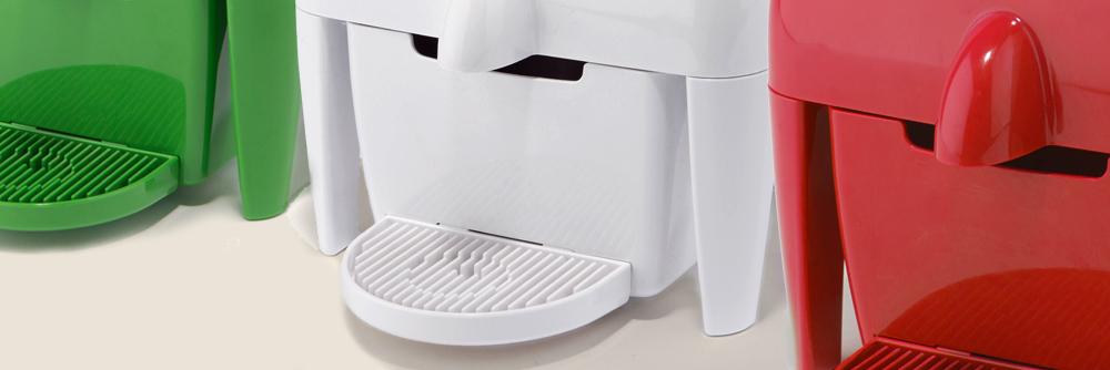 Macchina da caffè a capsule compatta e colorata 100% Made in Italy in vendita online- Coff-e Machine - COFF-E