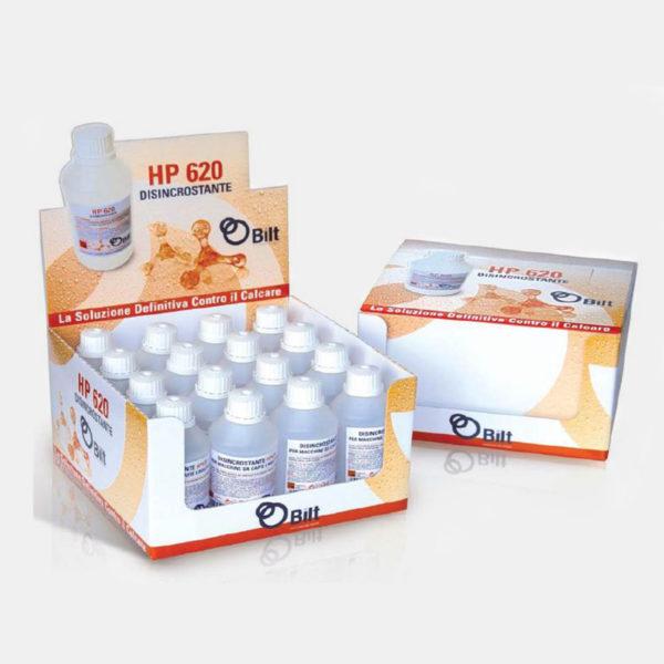 HP620 - Soluzione disincrostante per decalcificare la macchina da caffè - Coff-e