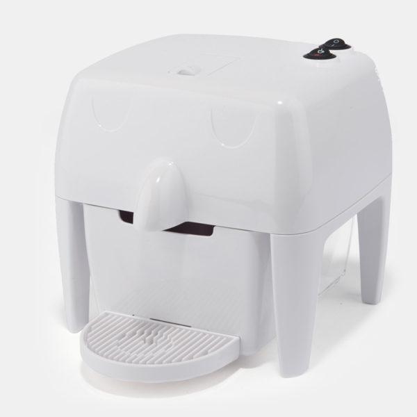 Coff-e Machine - Macchina da caffè a capsule bianca compatta, piccola e simpatica - Coff-e System