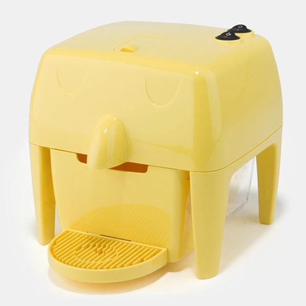 Coff-e Machine - Macchina da caffè a capsule gialla compatta, piccola e simpatica - Coff-e System