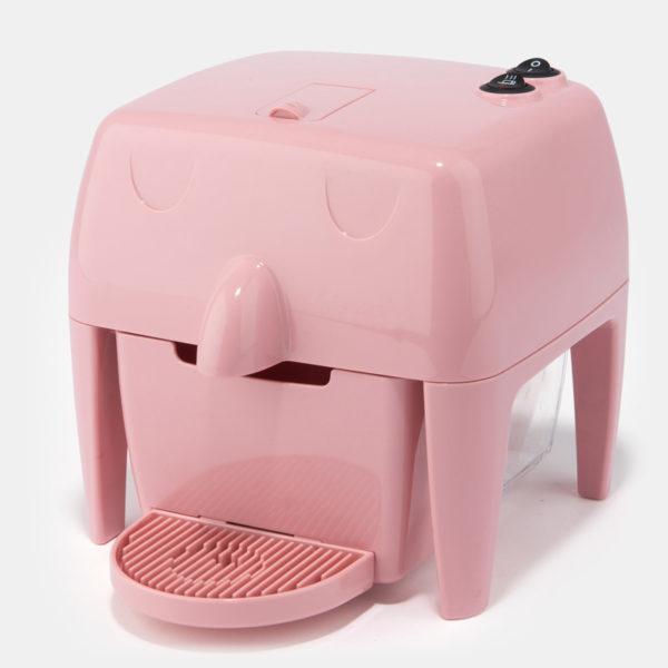Coff-e Machine - Macchina da caffè a capsule rosa compatta, piccola e simpatica - Coff-e System
