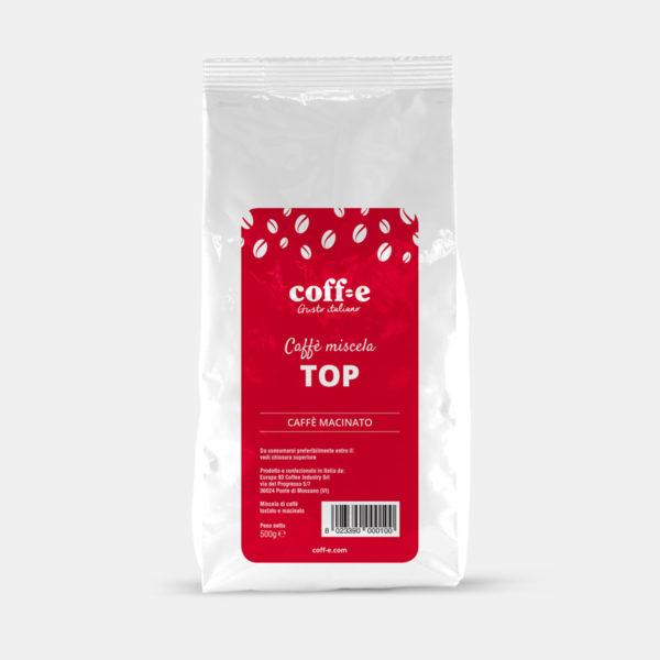 Pacco da 500g di caffé macinato Arabica torrefatto artigianalmente – Coff-e