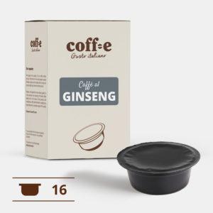 Capsule compatibili Lavazza A Modo Mio® - Caffè al ginseng – Coff-e