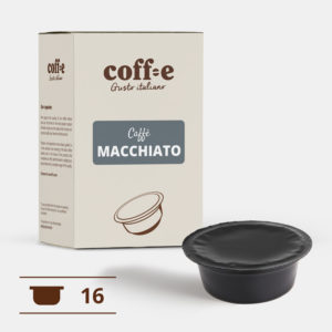 Capsule compatibili Lavazza A Modo Mio® - Caffè macchiato – Coff-e