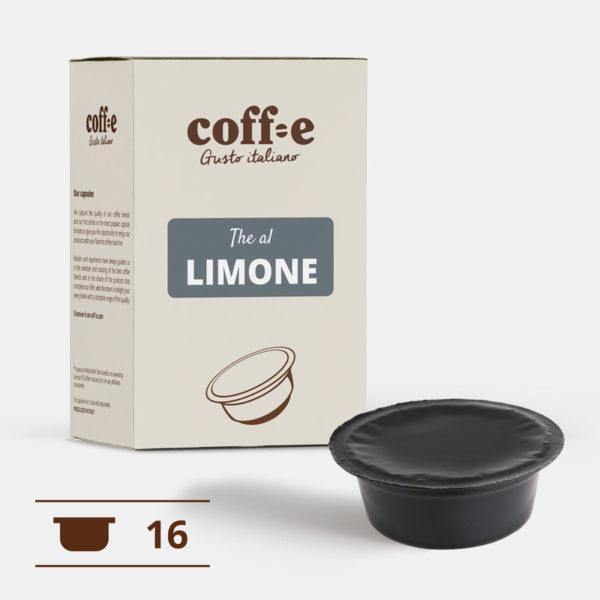 Capsule compatibili Lavazza A Modo Mio® - The al limone – Coff-e