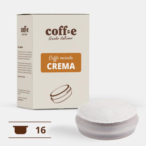 Capsule sistema chiuso Coff-e - Caffè Robusta torrefatto artigianalmente – Coff-e System