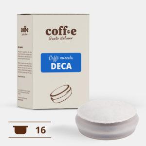 Capsule sistema chiuso Coff-e - Caffè Decaffeinato torrefatto artigianalmente – Coff-e System