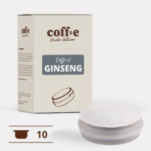 Capsule sistema chiuso Coff-e - Capsule caffè al Ginseng – Coff-e System