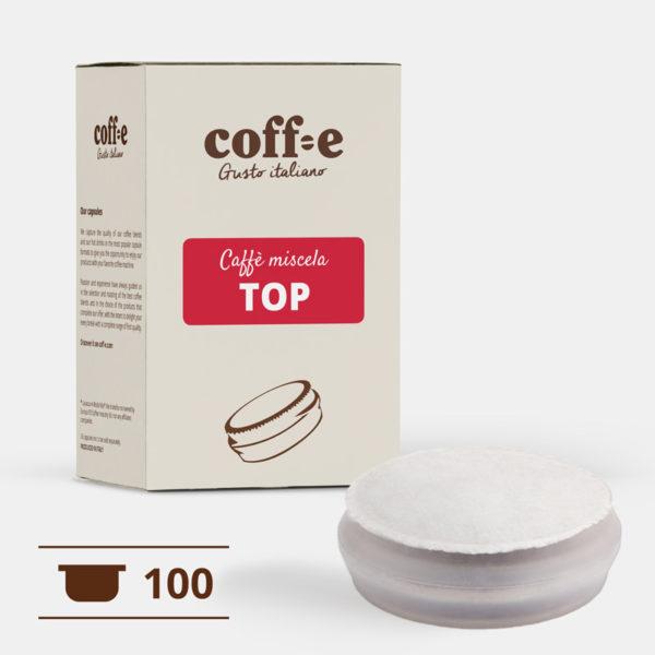 Capsule sistema chiuso Coff-e - Caffè Arabica torrefatto artigianalmente