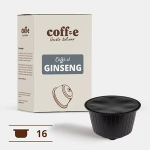 Capsule compatibili Nestlé Dolce Gusto® - Caffè al ginseng – Coff-e
