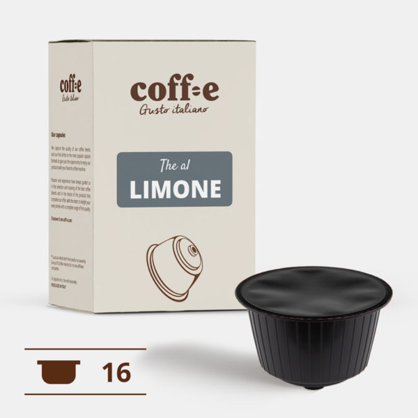 Capsule compatibili Nestlé Dolce Gusto® - The al limone – Coff-e