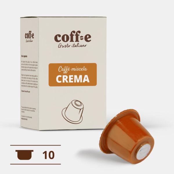 Capsule compatibili Nespresso® - Caffè Robusta torrefatto artigianalmente – Coff-e