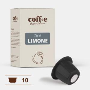 Capsule compatibili Nespresso® - The al limone – Coff-e