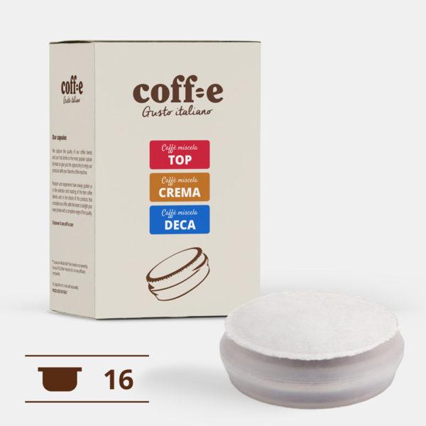Caffè in cialde: kit degustazione miscele COFF-E