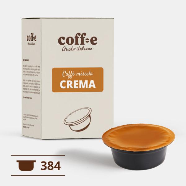 Lavazza ® A Modo Mio 384 capsule compatibili caffè robusta torrefatto artigianalmente nel nostro stabilimento di Vicenza - COFF-E