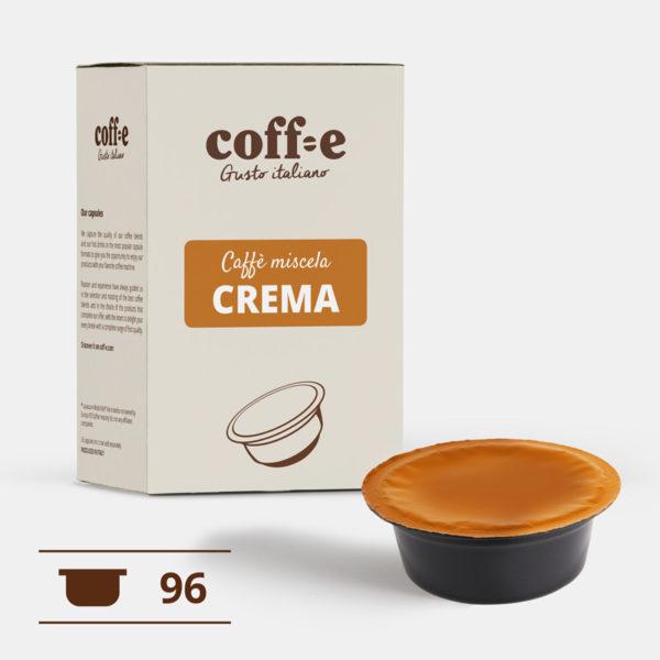 Lavazza ® A Modo Mio 96 capsule compatibili caffè robusta torrefatto artigianalmente nel nostro stabilimento di Vicenza - COFF-E