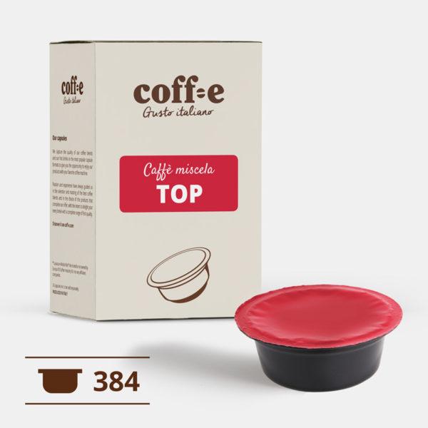 Lavazza ® A Modo Mio 384 capsule compatibili caffè arabica torrefatto artigianalmente nel nostro stabilimento di Vicenza - COFF-E