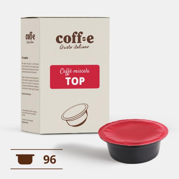Lavazza ® A Modo Mio 96 capsule compatibili caffè arabica torrefatto artigianalmente nel nostro stabilimento di Vicenza - COFF-E