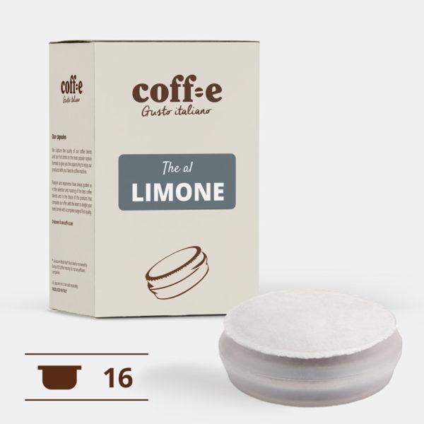 Capsule per macchine da caffè gusto orzo espresso - tutta la qualità del nostro the al limone artigianale nel formato di capsula Coff-e System - COFF-E