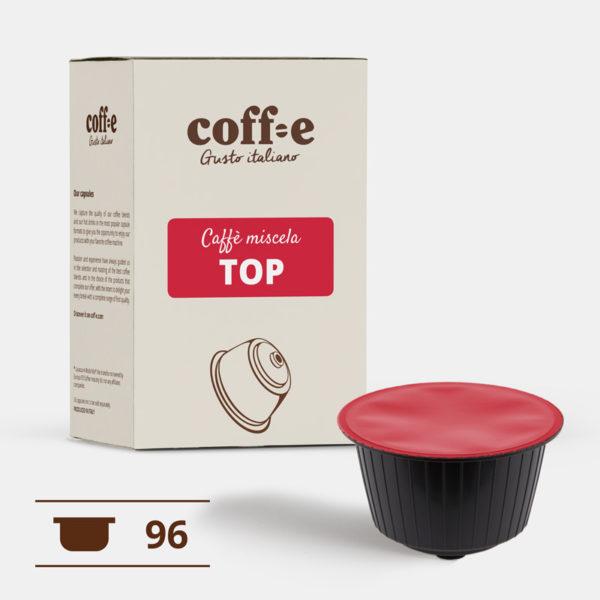 96 capsule caffè arabica compatibili Dolce Gusto ® Nescafè - Torrefazione artigianale - dal produttore al consumatore - Coff-e