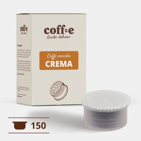 150 capsule compatibili Lavazza Espresso Point - Caffè miscela robusta - COFF-E