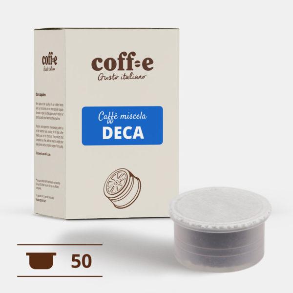 50 capsule compatibili Lavazza Espresso Point - Caffè decaffeinato - COFF-E