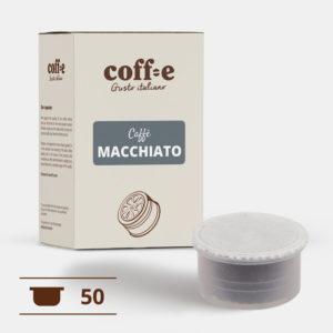 50 capsule compatibili Lavazza Espresso Point - Caffè macchiato - COFF-E