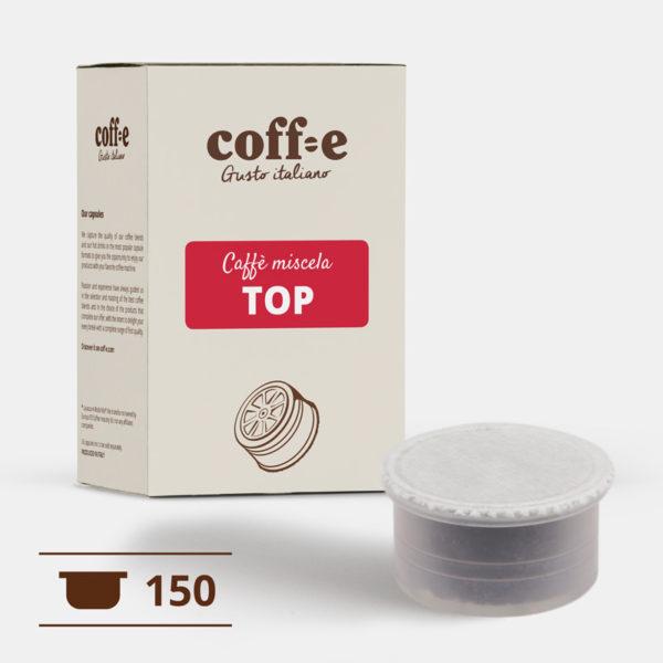 150 capsule compatibili Lavazza Espresso Point - Caffè miscela arabica - COFF-E