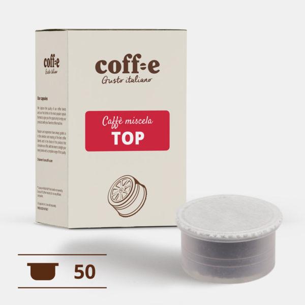 50 capsule compatibili Lavazza Espresso Point - Caffè miscela arabica - COFF-E