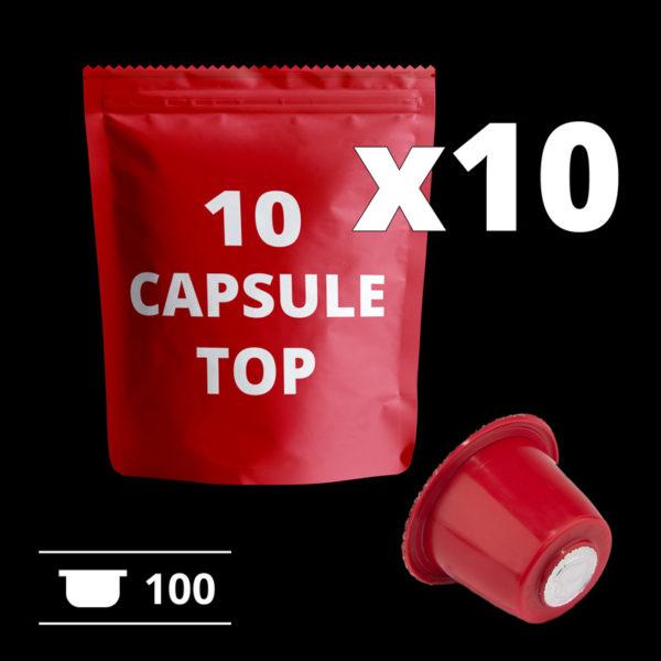 Black Friday - Promo capsule compatibili Nespresso - 100 pezzi - COFF-E